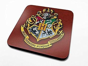 Harry Potter Coaster Set Hogwarts Coat of Arms