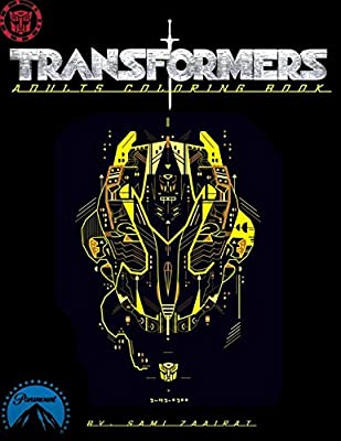 Transformers: Adults coloring book