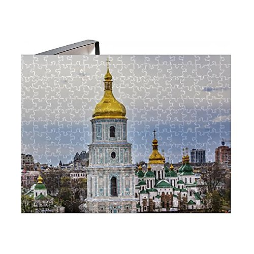 Media Storehouse 252 Piece Puzzle of Saint Sophia Sofia Cathedral Spires Towe Golden Dome Sofiyskaya (13925407)