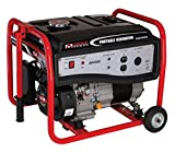 Portable Generator in Black and Red