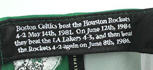 Boston Celtics Mitchell & Ness The 80's NBA Champions Snapback Cap – Green