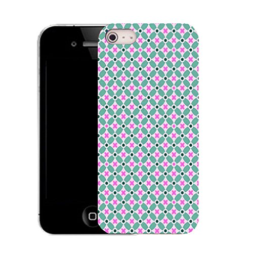 Mobile Case Mate IPhone 5S clip on Silicone Coque couverture case cover Pare-chocs + STYLET - periodot pattern (SILICON)