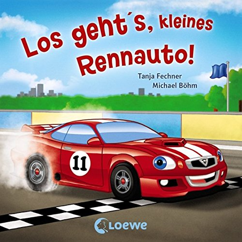 Coole Fahrzeuge - Los geht's, kleines Rennauto!