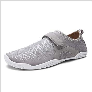 Mylhope Zapatos De Agua Pareja ImpresióN Unisexo Yoga Danza Deportes Acuáticos Transpirable Secado Rápido Zapatillas para