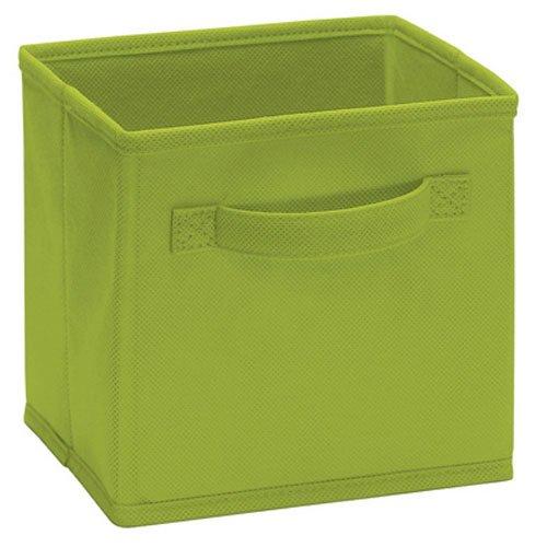 Closetmaid 1540 Cubeicals Mini Fabric Drawers, Spring Green, 2 Pack - Mini Drawers Storage