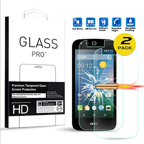 Tempered Glass for Acer Liquid Z330 (Clear) - 6