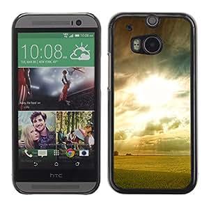 "For HTC One ( M8 ) , S-type Amanecer foto"" - Arte & diseño plástico duro Fundas Cover Cubre Hard Case Cover"