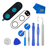 Mmobiel Back Rear Camera Real Glass Lens Replacement Complet Set + Pre-Installed 3M Adhesive + Full Toolkit Incl. Tweezers For Motorola Moto G4 Plus