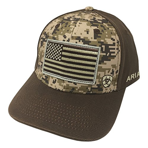 ARIAT Men's Patriot Fabric Back Cap, Multi/Color, One Size