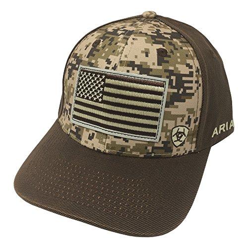 ARIAT Men's Patriot Fabric Back Cap, Multi/Color, One Size
