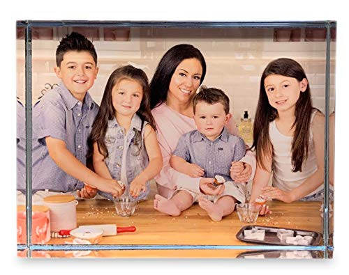 Personalized Photo Crystal Paperweight - Rectangle