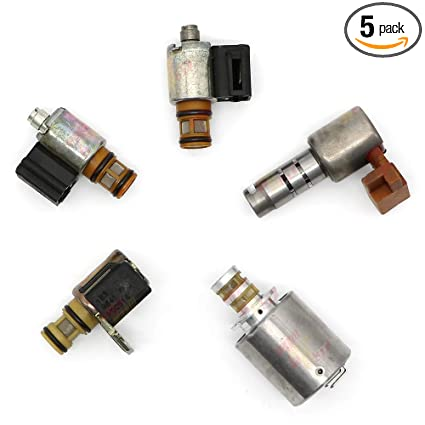 d0ab4af11a1e Amazon.com: 4L30E Transmission Solenoid 5 Pieces Kit Set Isuzu ...