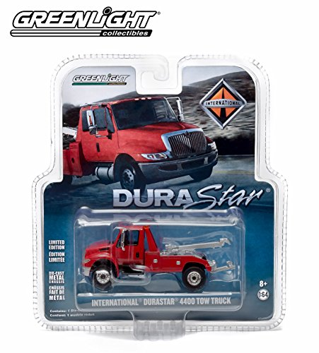 Limited Edition International DuraStar 4400 Tow Truck (Red) * Limited Edition Hobby Exclusive * 2014 Greenlight Collectibles 1:64 Scale Die-Cast (Gmc Pickup Truck Hot Rod)
