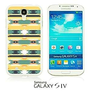 OnlineBestDigital - Geometrical Pattern Hardback Case for Samsung Galaxy S4 IV I9500 / I9505 - Funny Tribal Aztec Pattern