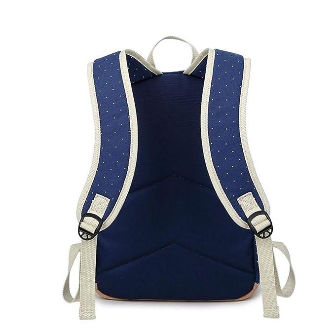 Amazon.com : YKXIAOYU New Shoulder Bag Female Shoulder Bag Female Middle School Student Bag Canvas Female Bag Printed Backpack : Garden & Outdoor