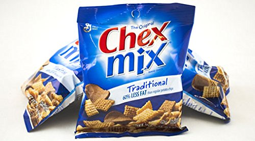 Chex Mix Traditional Snack Mix 60% Less Fat - 18 ct./1.75 oz