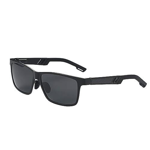 Amazon.com: Aroncent - Gafas de sol polarizadas para hombre ...