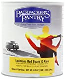 Backpacker's Pantry Louisiana Red Beans and Rice, 49.5 Ounce, #10 Can