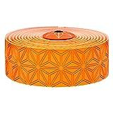 Supacaz Unisex's Super Sticky Kush Handlebar Tape, Neon Orange,