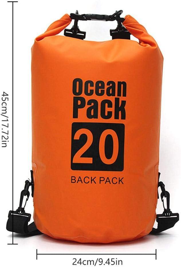FOONEE Bolsa Impermeable de Almacenamiento, Bolsa Seca Impermeable para la Playa, Kayak, natación, Barco, Camping, Viajes y Regalos, Naranja: Amazon.es: Deportes y aire libre