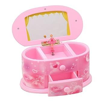 Caja de música, WER caja de música joyero tipo Bailarina: Amazon.es: Electrónica