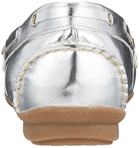 Andrea Conti Damen 0873010 Mokassin Silber (Silber)