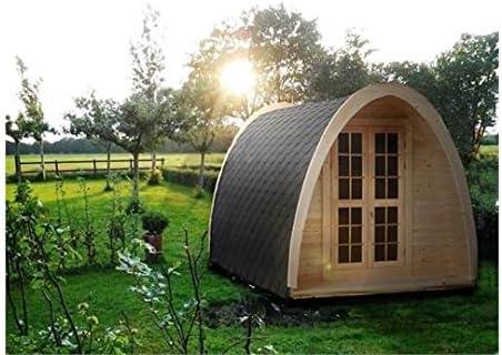 Camping Pod – Caseta de camping de verano (4,8 m de largo x 2 ...