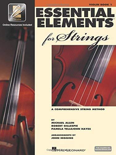 Essential Elements 2003 Book - Essential Elements for Strings - Book 2 with EEi: Violin by Robert Gillespie (2003-07-01)