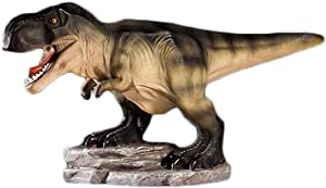 WAIT FLY 11 x 5 x 8 Inches Tyrannosaurus Shaped Large Size Resin Piggy Bank Coin Bank Money Bank Best Christmas Birthday Gifts for Kids Boys Girls Home Decoration