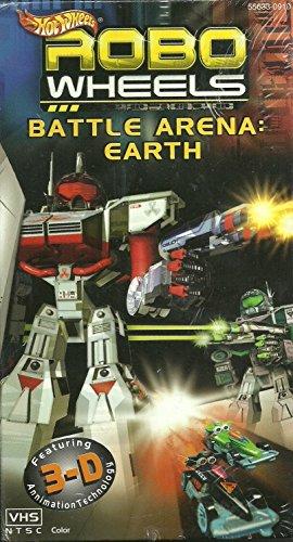 Hot Wheels – Robo Wheels – Battle Arena: Earth