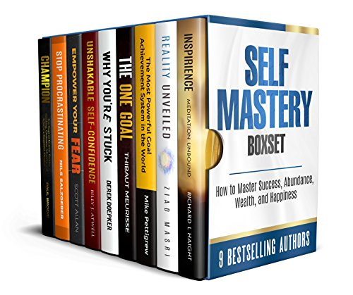 Self Mastery Boxset: How to Master Success, Abundance, Wealth, and Happiness by [Haight, Richard L, Masri, Ziad, Pettigrew, Mike, Meurisse, Thibaut, Doepker, Derek, Atwell, Billy, Allan, Scott, Salzgeber, Nils, Brodie, Paul]