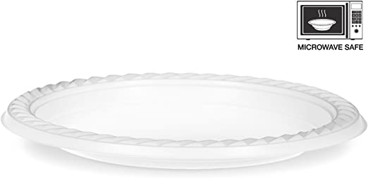 100 unidades] alta calidad extra fuerte platos desechables ...