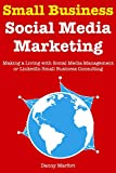 img - for Small Business Social Media Marketing: Making a Living with Social Media Management or LinkedIn Small Business Consulting book / textbook / text book