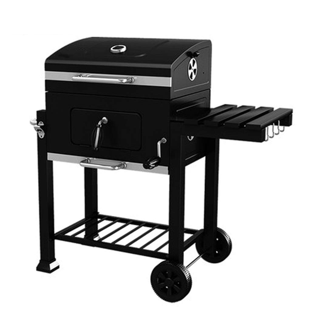 MEI XU Barbecue Grill BBQ Grill - Thicken Portable Barbecue Home Garden Charcoal Large Commercial smokeless Barbecue car Outdoor Villa