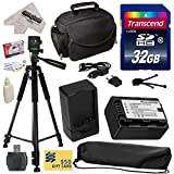 Must Have Accessory Kit for Panasonic SD40, SD60, SD80, SD90, SDX1, S45, S50, S70, S71, T50, T55, T70, T71, T76, TMX1, TM40, TM41, TM55, TM60, TM80, TM90, HS40, HS60, HS80, H85, H95, H100, H101, HS60, HS80 Video Camera Camcorder Includes - 32GB High-Speed SDHC Card + Card Reader + Power2000 VW-VBK180 2000mAh Ultra High Capacity Li-ion Battery + AC/DC Rapid Battery Charger + Deluxe Padded Carrying Case + Professional 60' Tripod + Lens Cleaning Kit including LCD Screen Protectors Photo Print