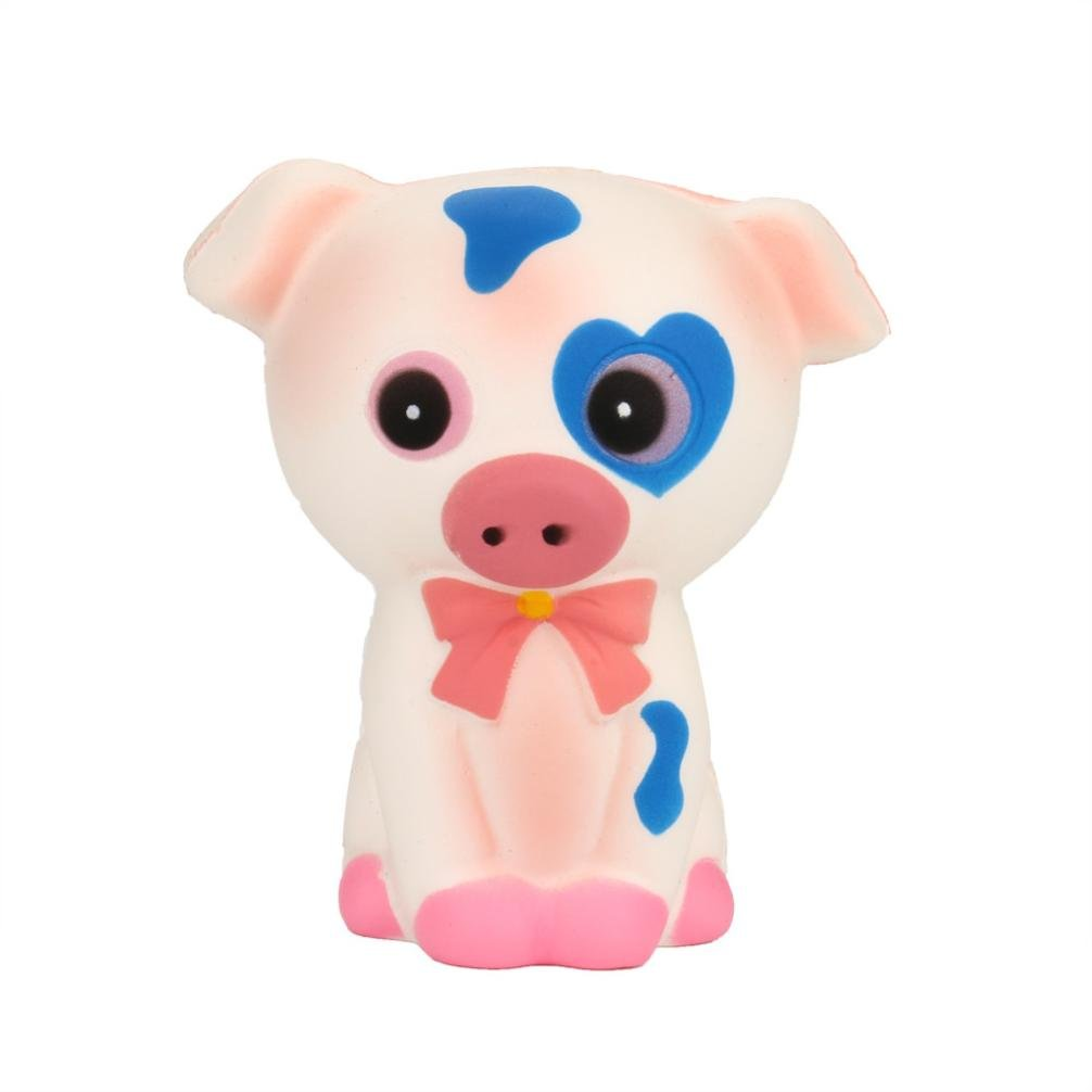 TrimakeShop Squeeze Pig Cream Bread Scented Slow Rising Toys Phone Charm Gifts