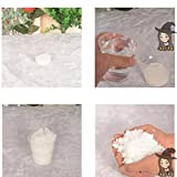 10 Pack-Artificial Instant Snow Fluffy Super Absorbant Decorations Seasonal Garden Home Decor Accents For Christmas Wedding Kids Children Play ( 10pcs)