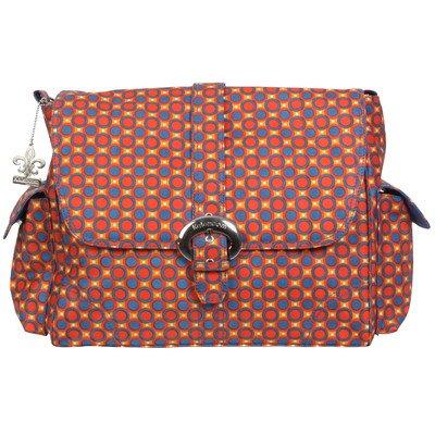 Kalencom Messenger Buckle Diaper Bag, Cassandra Dots