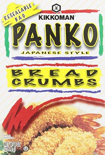 - Kikkoman Panko Japanese Style Bread Crumbs, 8 Oz