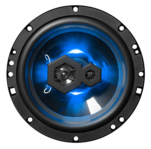 "BOSS Audio Elite B65LED 6.5"" Car Speakers - 300 Watts of Power Per Pair, 150 Watts Each, 3 Way, Sold in Pairs, Easy Mounting"