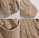 King-Ma-Womens-Cable-Knit-Chunky-Hoodie-Cardigan-with-Buttons