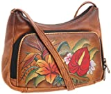 Anuschka 481 TRP Cross Body,Tropical Paradise,One Size, Bags Central