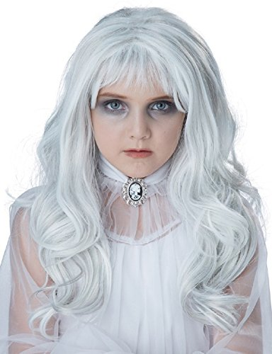 California Costumes Child's Ghost Wig, Gray, One (Childrens Halloween Wigs)