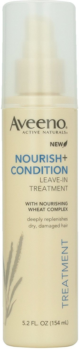 AVEENO ACTIVE NATURALS Nourish+Condition Leave-In Treatment 5.20 oz (Pack of 5)