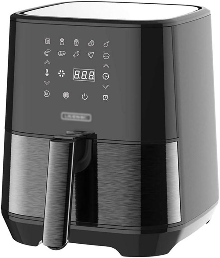 Máquina de patatas fritas automáticas automáticas de gran capacidad AIR ARRIBLE CAUCTULAR MÁQUINA CIELIZADA (COLOR: NEGRO, TAMAÑO: 34 * 27.5 * 31.4cm) WTZ012 ( Color : Black , Size : 34*27.5*31.4cm )