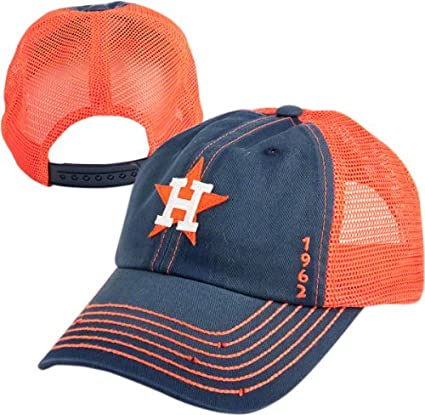 Image Unavailable. Image not available for. Color  Houston Astros Vintage  Mesh Snapback Adjustable Hat 10253648d1f0