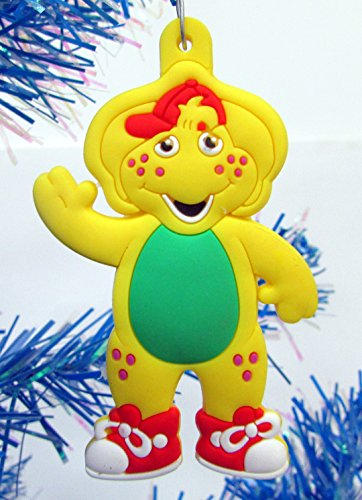 Barney Christmas Ornaments Featuring 4 Barney Ornaments with