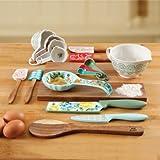 The Pioneer Woman 20 Piece Kitchen Gadget Utensil Set (Rose Shadow)