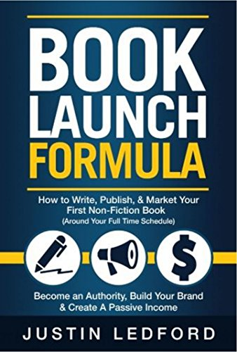 Book Launch Formula Non Fiction Schedule ebook product image