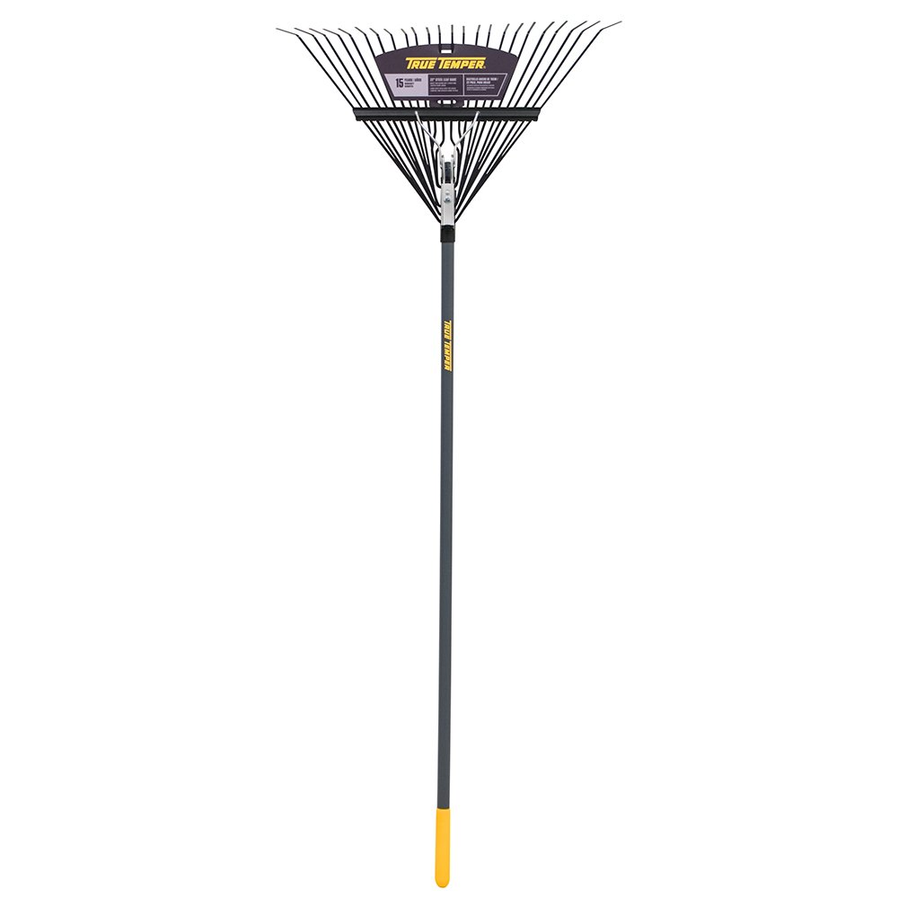 The AMES Companies, Inc True Temper 24-Tine Steel Tine Leaf Rake - 2934100